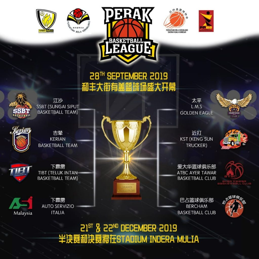霹雳联赛 篮球 Perak Basketball League